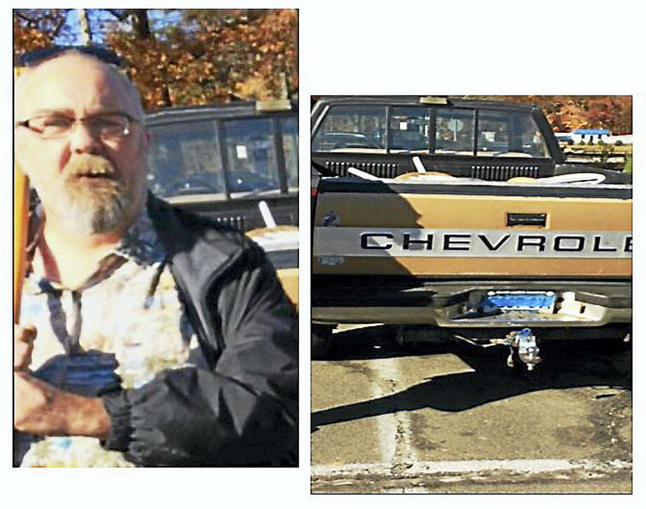 State police are searching for this man they say robbed a Haddam package store of rare whiskey on Nov. 4. Photo: Courtesy State Police
