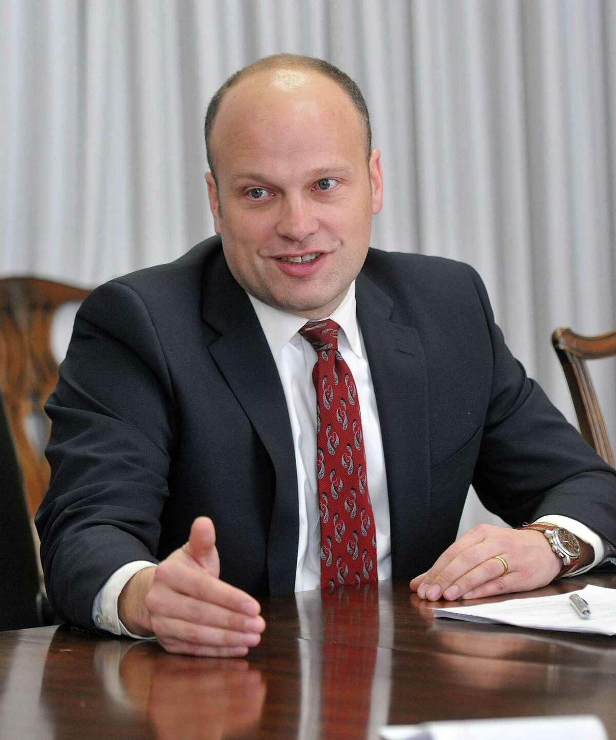 Garth Harries, former New Haven superintendent of schools.