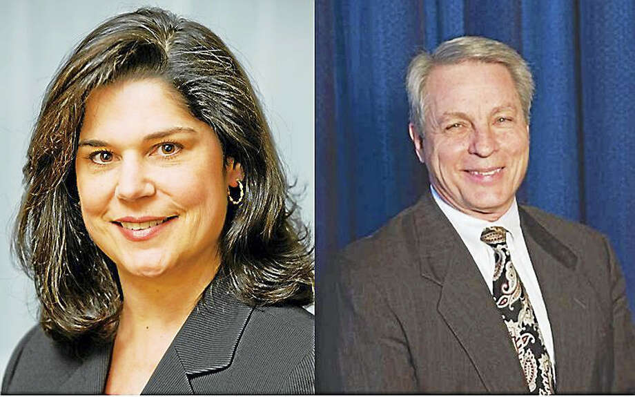 State Sen. Dante Bartolomeo and Len Suzio Photo: Journal Register Co.