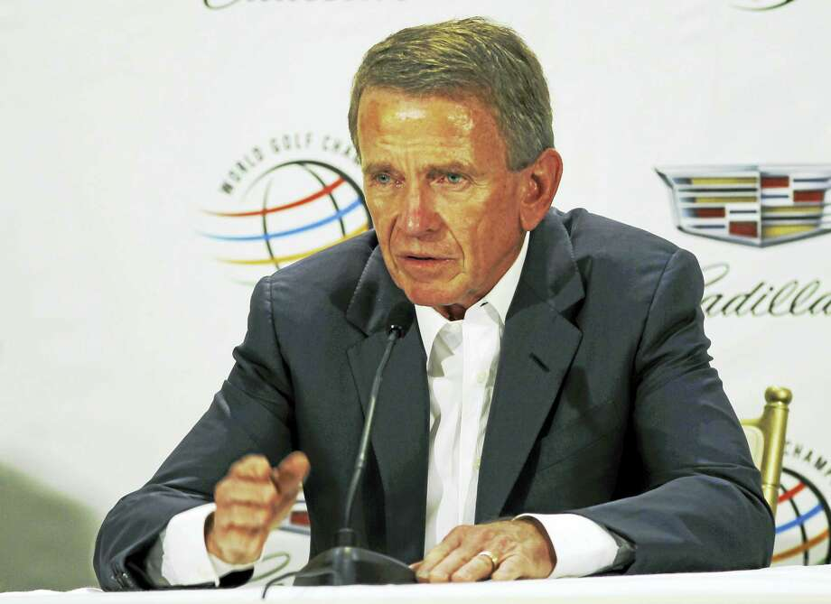 Tim Finchem is stepping down as commissioner of the PGA Tour. Photo: Marta Lavandier — The Associated Press   / AP