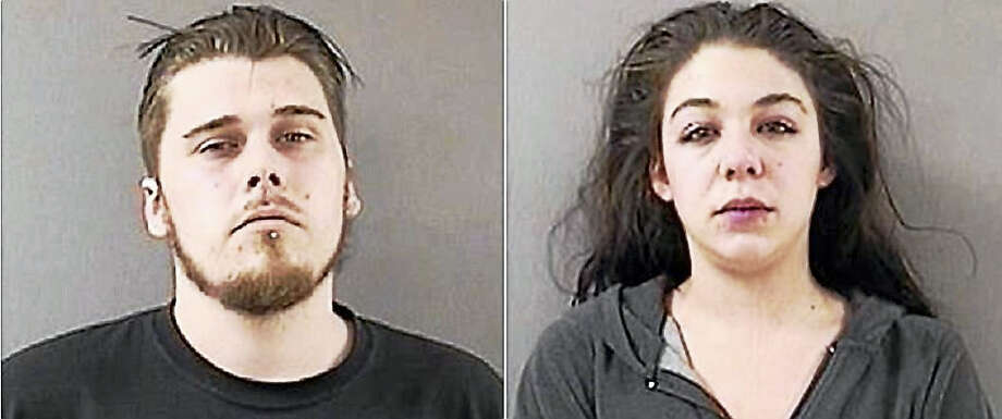 Nathanael May and Jacqueline Gambardella Photo: Courtesy Of The Wallingford Police Department