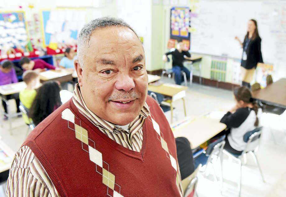 Washington Elemenrtary School Principal Steven Lopes retiring after 22 years in the West Haven School system. Photo: Peter Hvizdak — New Haven Register   / ©2016 Peter Hvizdak