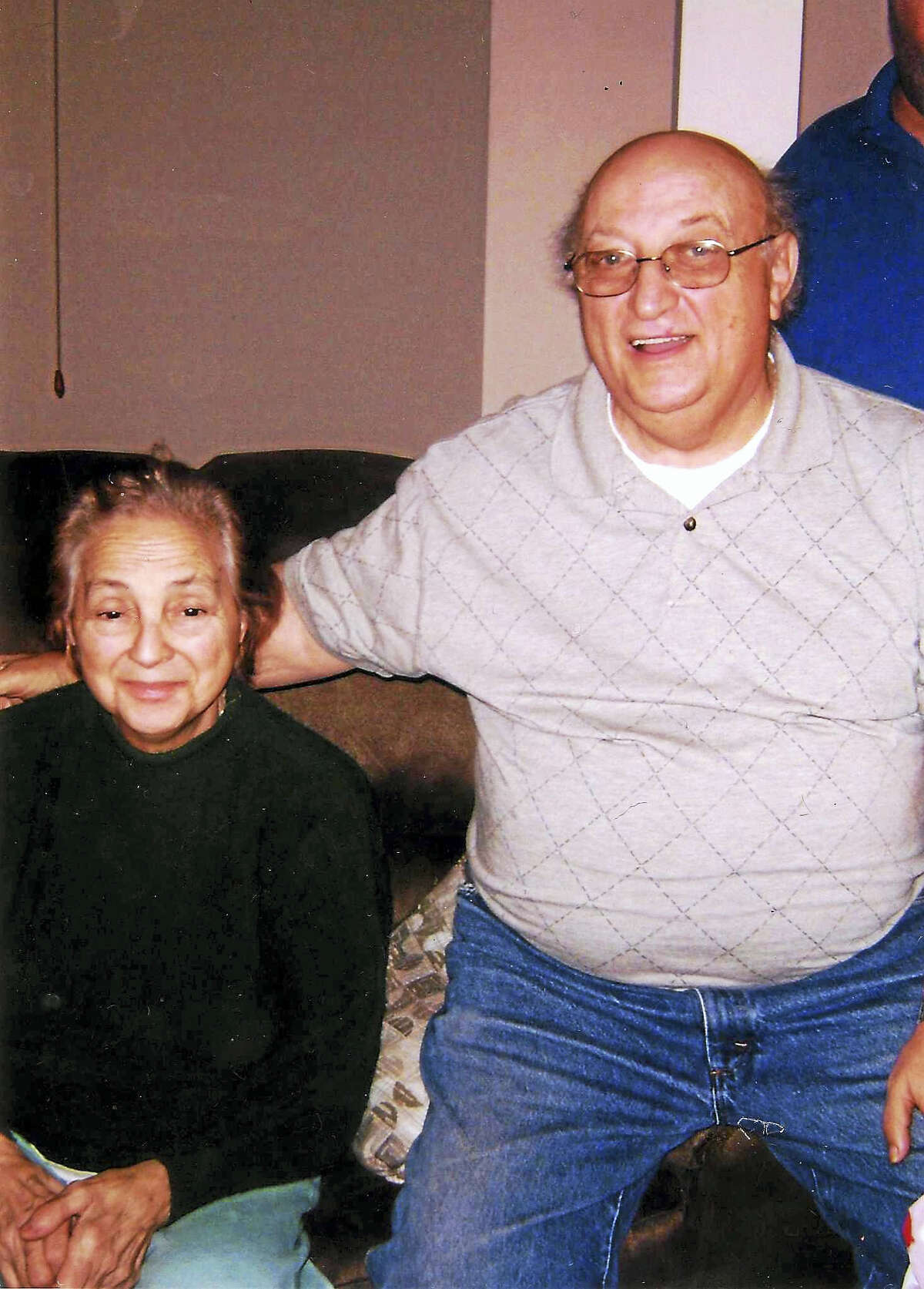 Helen and Clarence Marsala at Christmas in 2007.