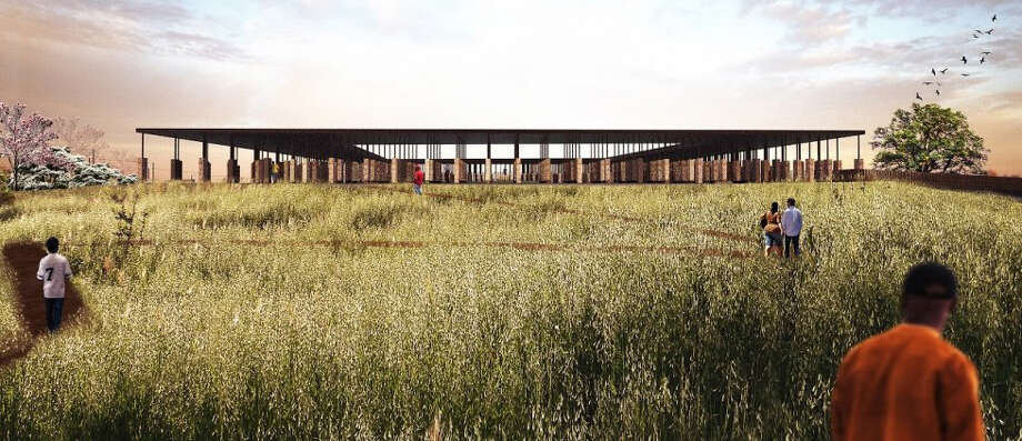 Rendering of the proposed Memorial to Peace and Justice, slated to open in Montgomery, Ala., in 2018. Photo: Courtesy Of The Equal Justice Initiative   / HANDOUT