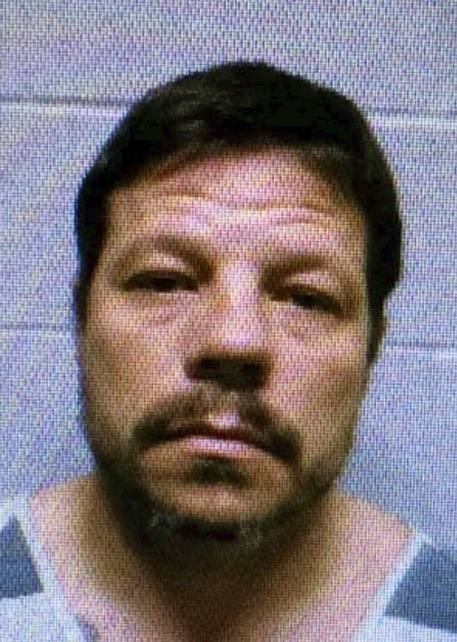 This undated file photo provided by the Lincoln County Sheriff's Office shows Michael Vance. Vance, the subject of a weeklong manhunt who was wanted in a string of violent crimes, including the killing of two relatives, the shooting of two Oklahoma police officers and multiple carjackings, has been killed in a shootout, federal and local police said on Oct. 30, 2016. Photo: Lincoln County Sheriff's Office Via AP, File   / Lincoln County Sheriffs Office