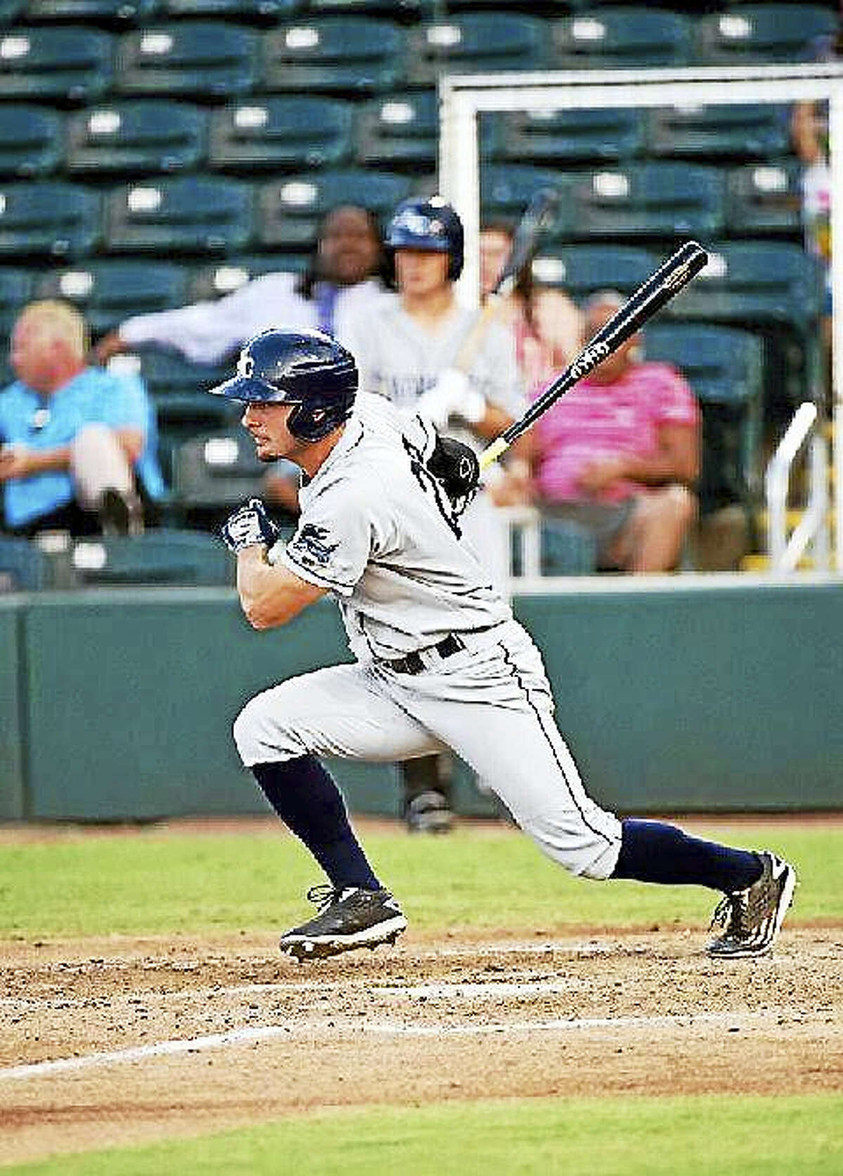 Monroe's Thomas Milone is playing for the Charlotte Stone Crabs, Tampa Bay's high-A affiliate, this season.