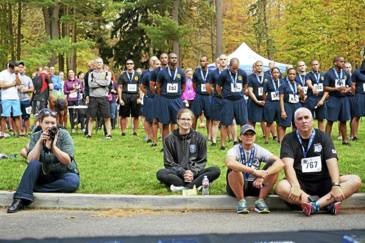 The seventh annual Law Enforcement Officers Memorial Run 5K was held at the Wadsworth Mansion in Middletown Sunday. New Haven Police took first place in the team division.