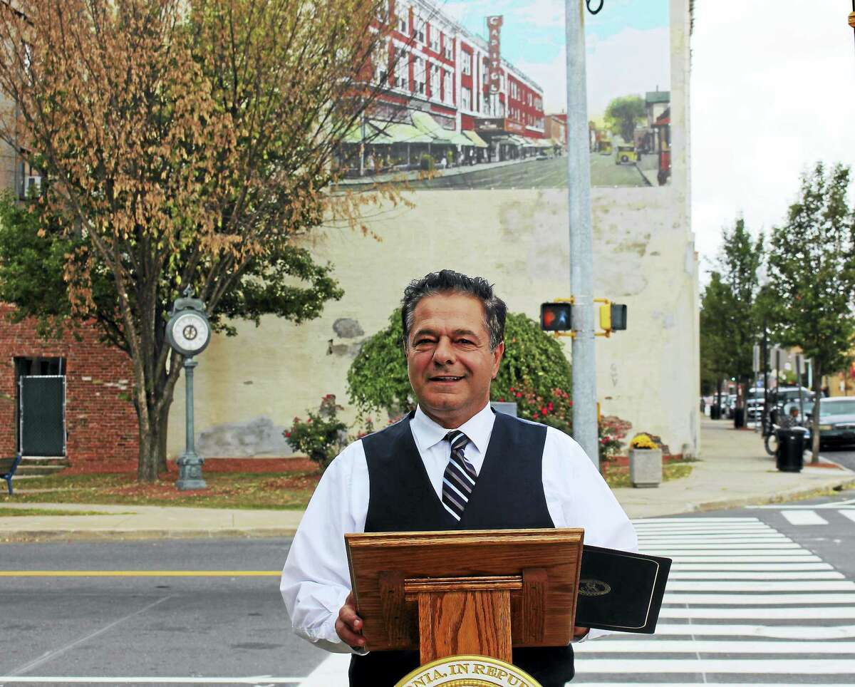 Ansonia Mayor David Cassetti held is second Mayor's Night Out on Thursday.
