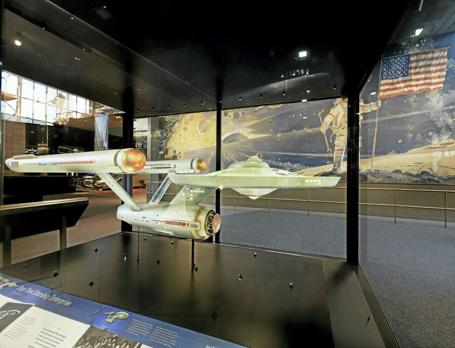 The U.S.S. Enterprise model at the Smithsonian. Photo: Photo Courtesy Of The Smithsonian