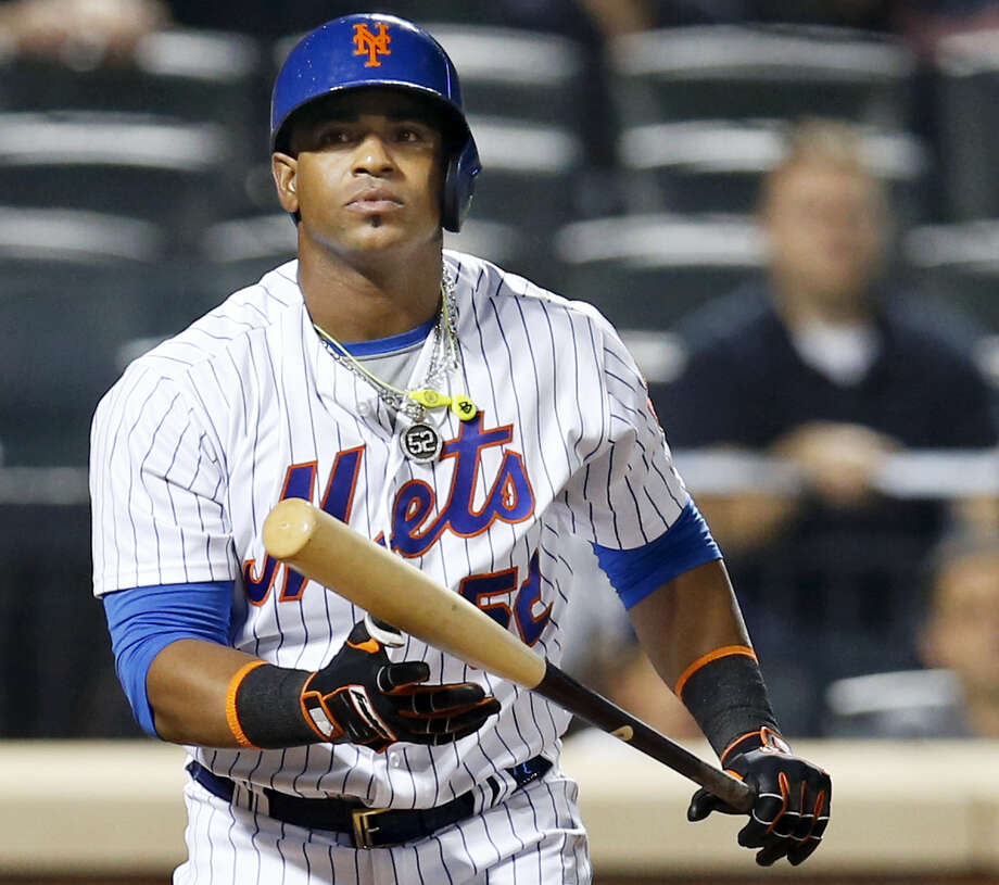 Yoenis Cespedes has opted out of the remaining two years of his contract with the Mets. Photo: The Associated Press File Photo   / Copyright 2016 The Associated Press. All rights reserved.