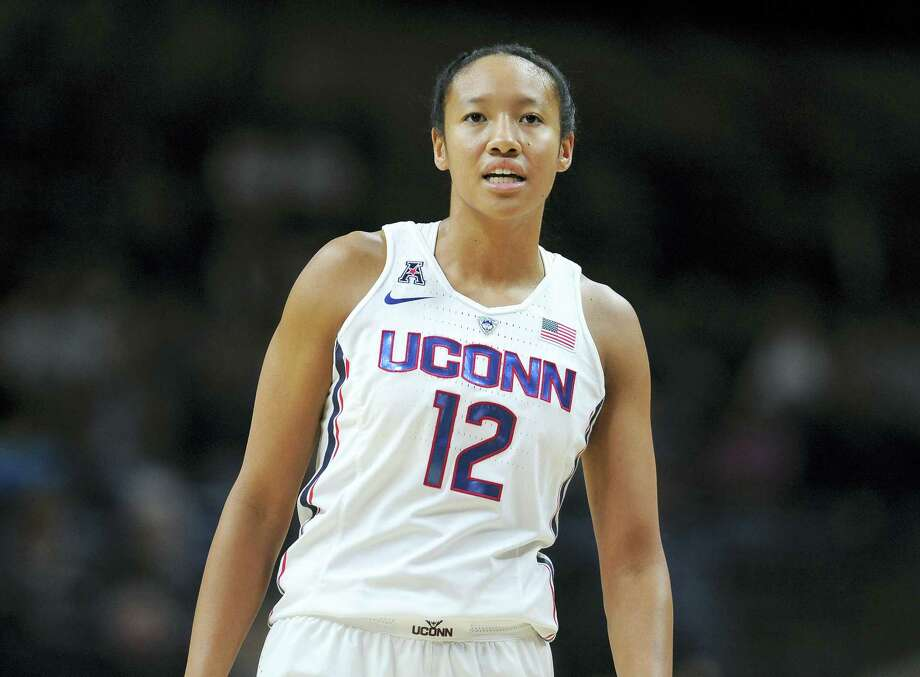 UConn senior Saniya Chong. Photo: Jessica Hill — The Associated Press    / AP2016