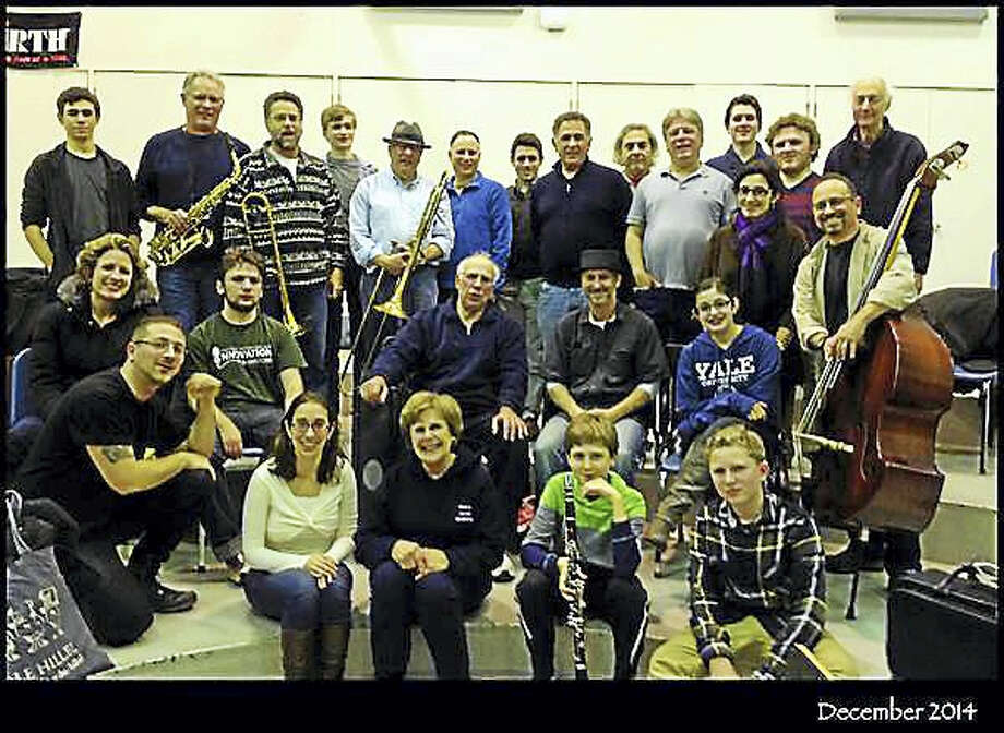 Nu Haven Kapelye sometimes performs with up to 30 members. Photo: Submitted Photo