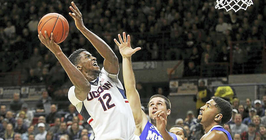 Kentan Facey has been through a lot in his UConn career, and he hopes to end his senior season with a bang. Photo: Photo Courtesy Of UConn Athletics