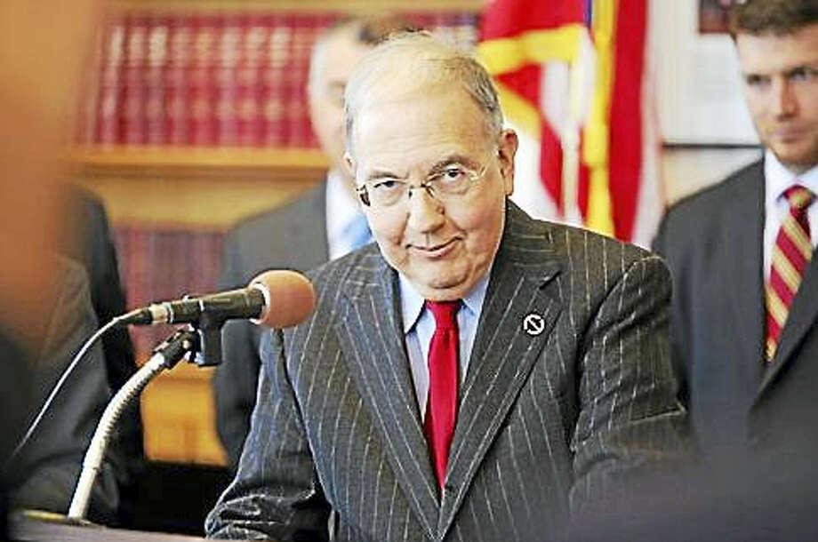 Senate President Pro Tempore Martin Looney Photo: File Photo