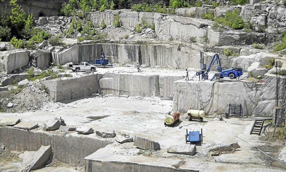 The Stony Creek Quarry.