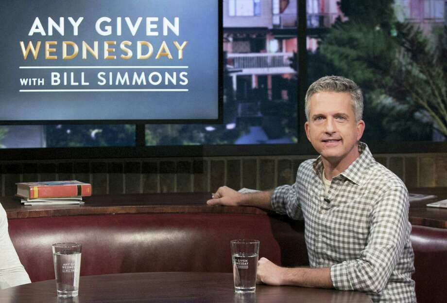 HBO canceled Bill Simmons' weekly talk show after less than five months. The last episode will air on Nov. 9. Photo: Jordin Althaus — HBO Via AP   / HBO