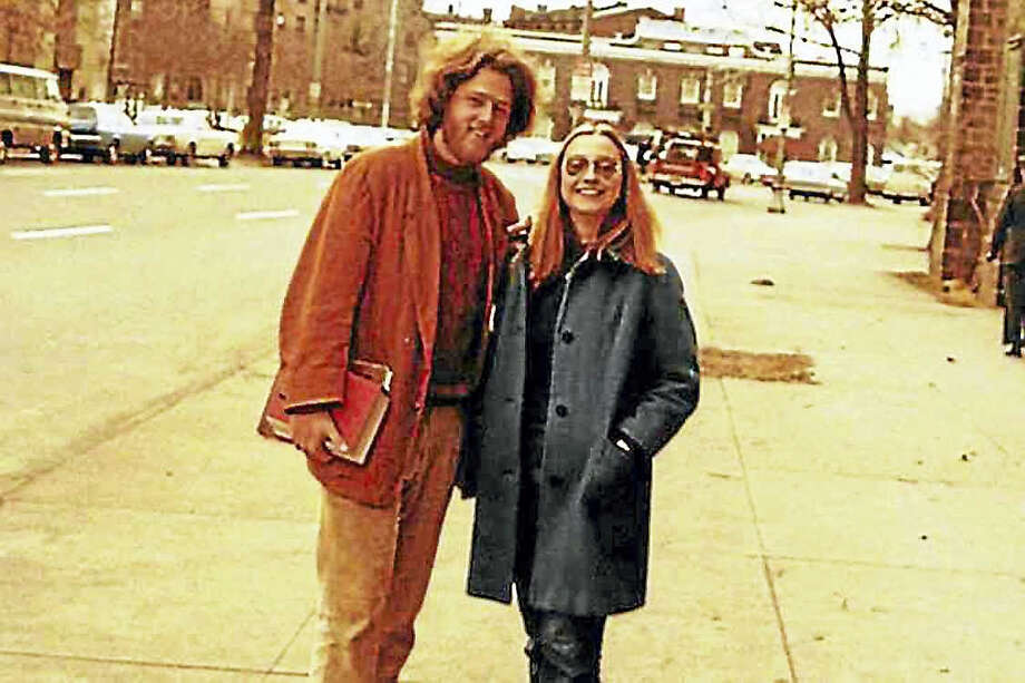 Yale Law School students Bill Clinton and Hillary Rodham in New Haven circa 1971 Photo: Courtesy Www.hillaryclinton.com