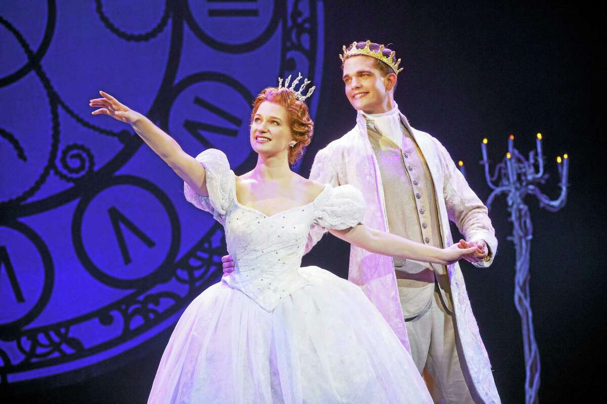 """Tatyana Lubov and Hayden Stanes in """"Cinderella."""""""