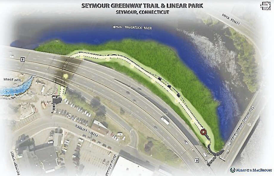 A rendering of the greenway trail Photo: Contributed Photo