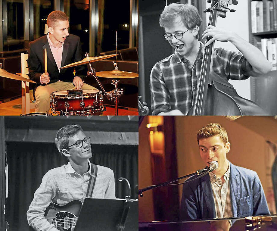 Set to play in Litchfield are Colum O'Connor on drums, Hans Bilger on bass, Jack Lawrence on guitar and Alexander Dubovoy on piano. Photo: Contributed
