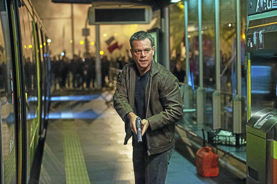 "Matt Damon returns to the ""Jason Bourne"" franchise as the off-the-grid title character who is soon on the run and out to get a crooked CIA director. Photo: Jasin Boland — Universal Pictures   / The Washington Post"