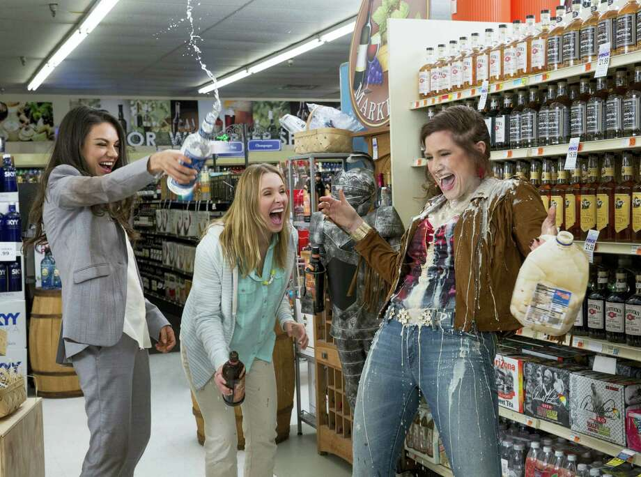 "From left, Mila Kunis, Kristen Bell and Kathryn Hahn in a scene from ""Bad Moms."" Photo: Michele K. Short — STX Productions Via AP   / © 2016 STX Productions, LLC. All Rights Reserved."