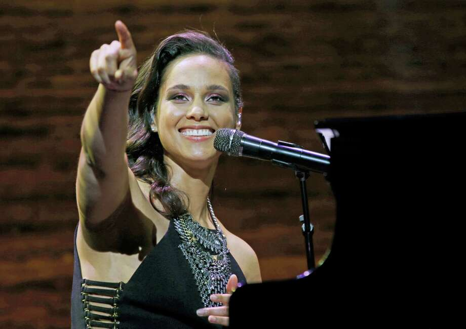 In this March 23, 2016 photo, singer Alicia Keys performs in Seattle. Photo: AP Photo/Ted S. Warren, File   / AP