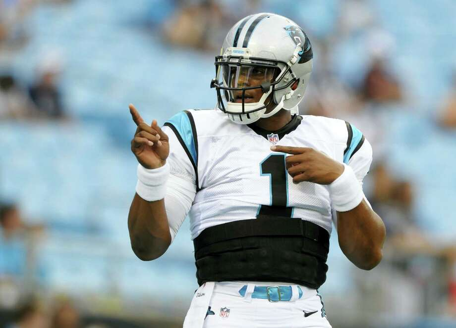 Carolina Panthers quarterback Cam Newton. Photo: Mike McCarn — The Associated Press   / FR34342 AP