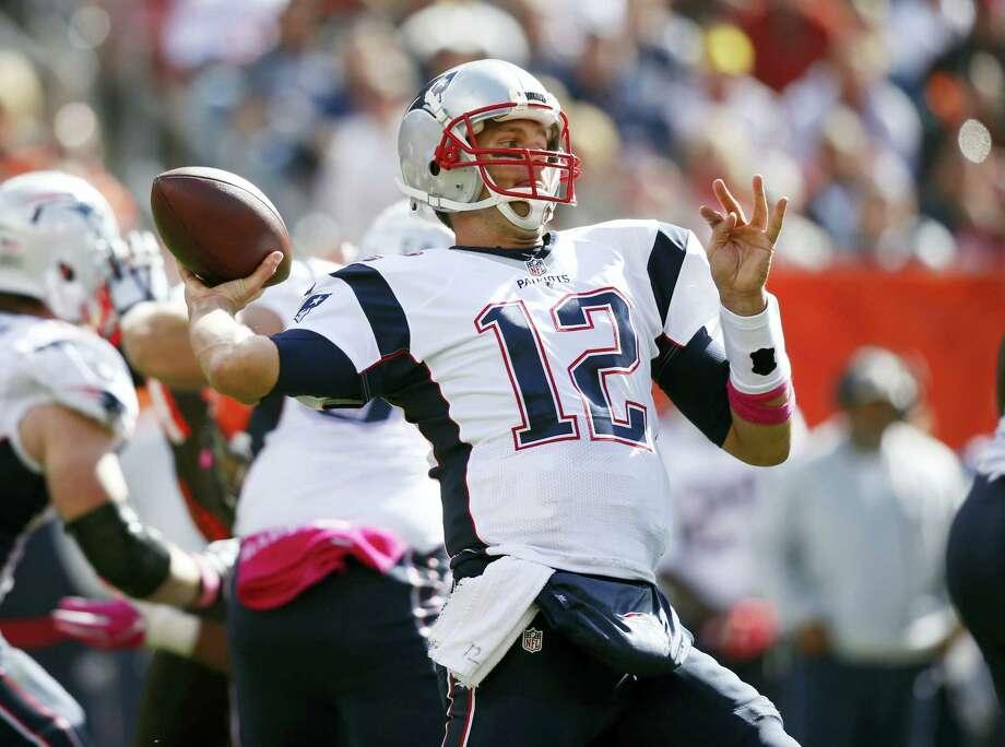 New England Patriots quarterback Tom Brady. Photo: Ron Schwane — The Associated Press File   / FR78273 AP