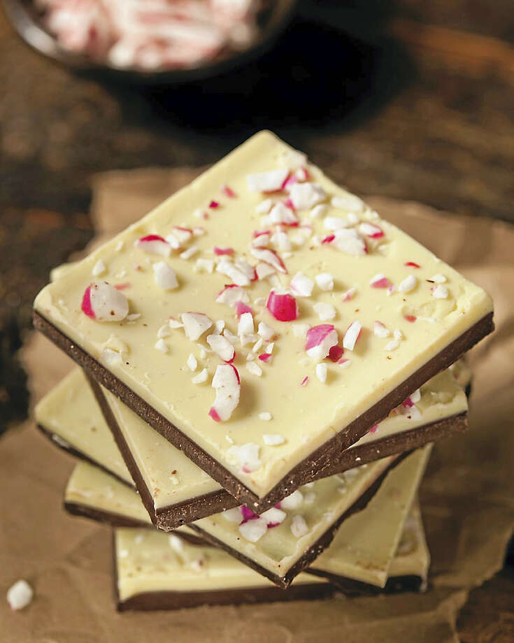 Dark and white peppermint bark Photo: Photo Courtesy Of Countryman Press