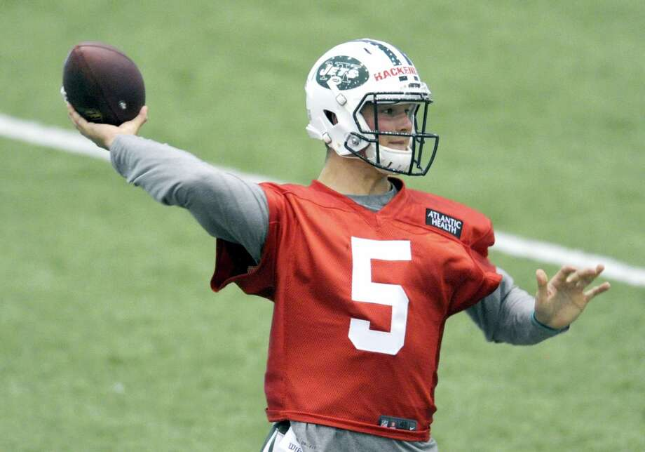 The Associated Press file photo  New York Jets second-round draft pick Christian Hackenberg. Photo: AP / FR51951 AP