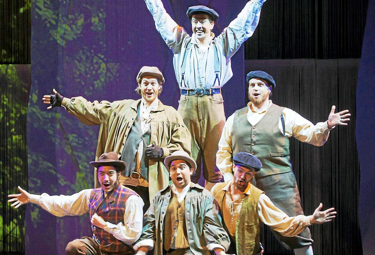 Singers in the Yale Opera Program.