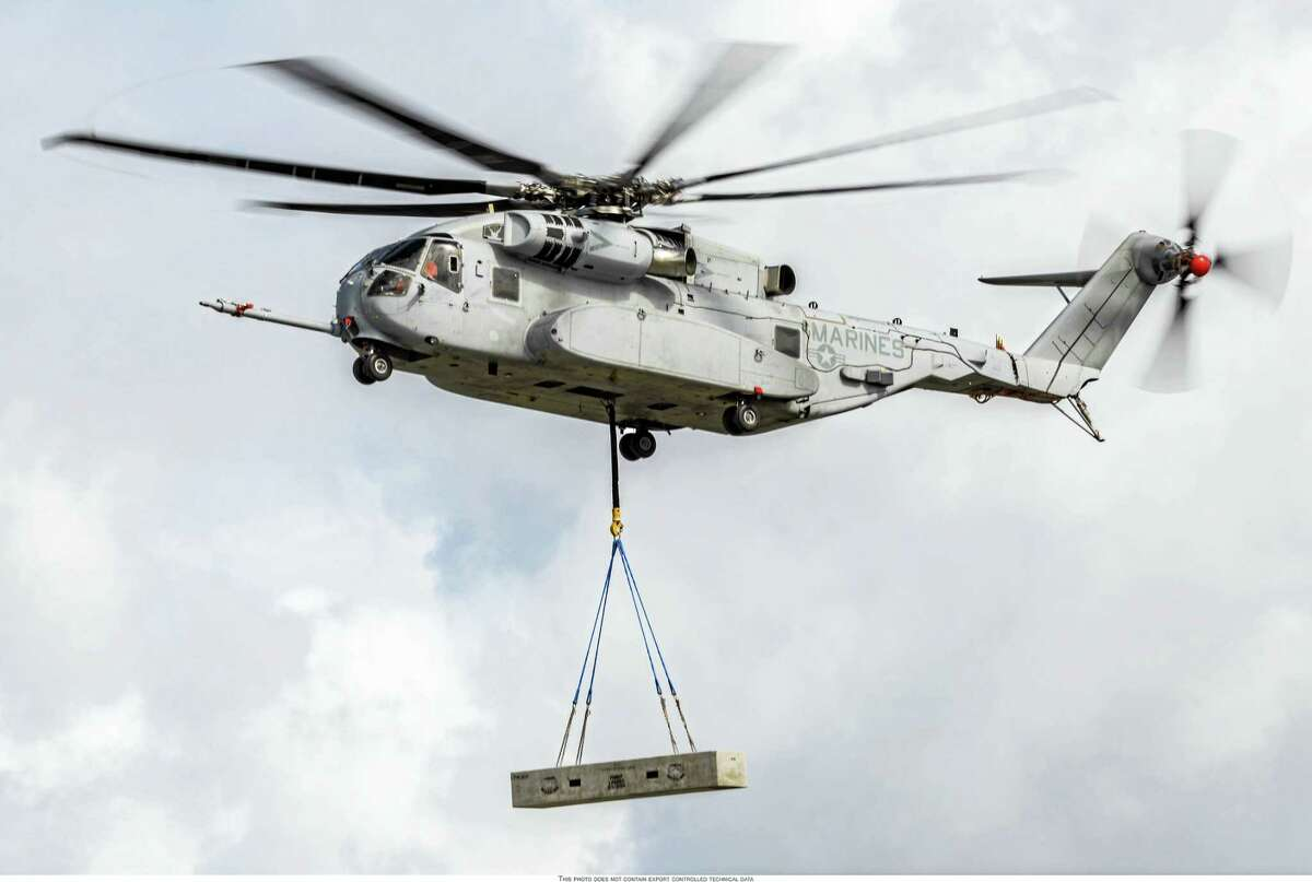 CONTRIBUTED PHOTO — SIKORSKY AIRCRAFT The CH-53K King Stallion helicopter.