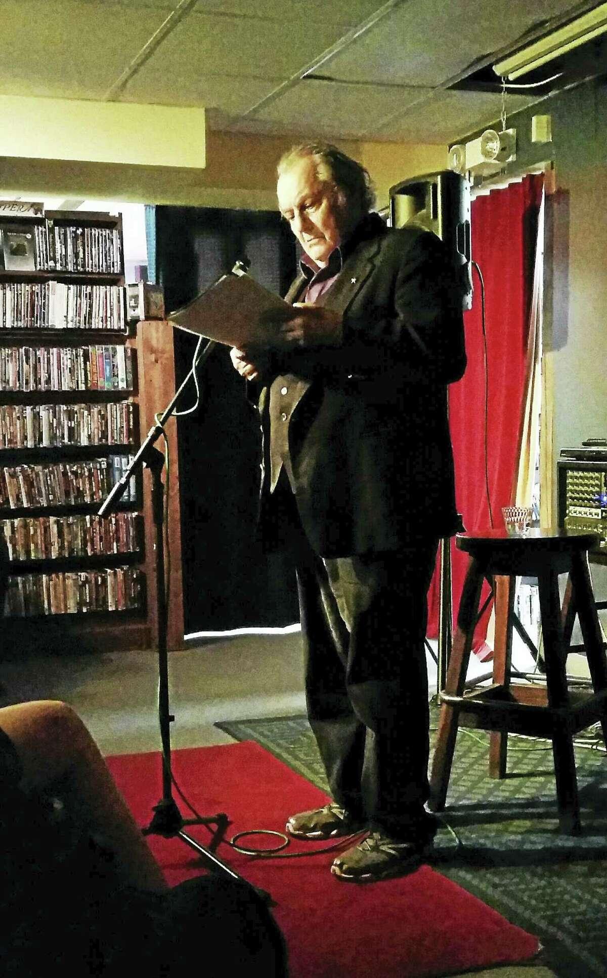 Franz Douskey is Hamden's first poet laureate.