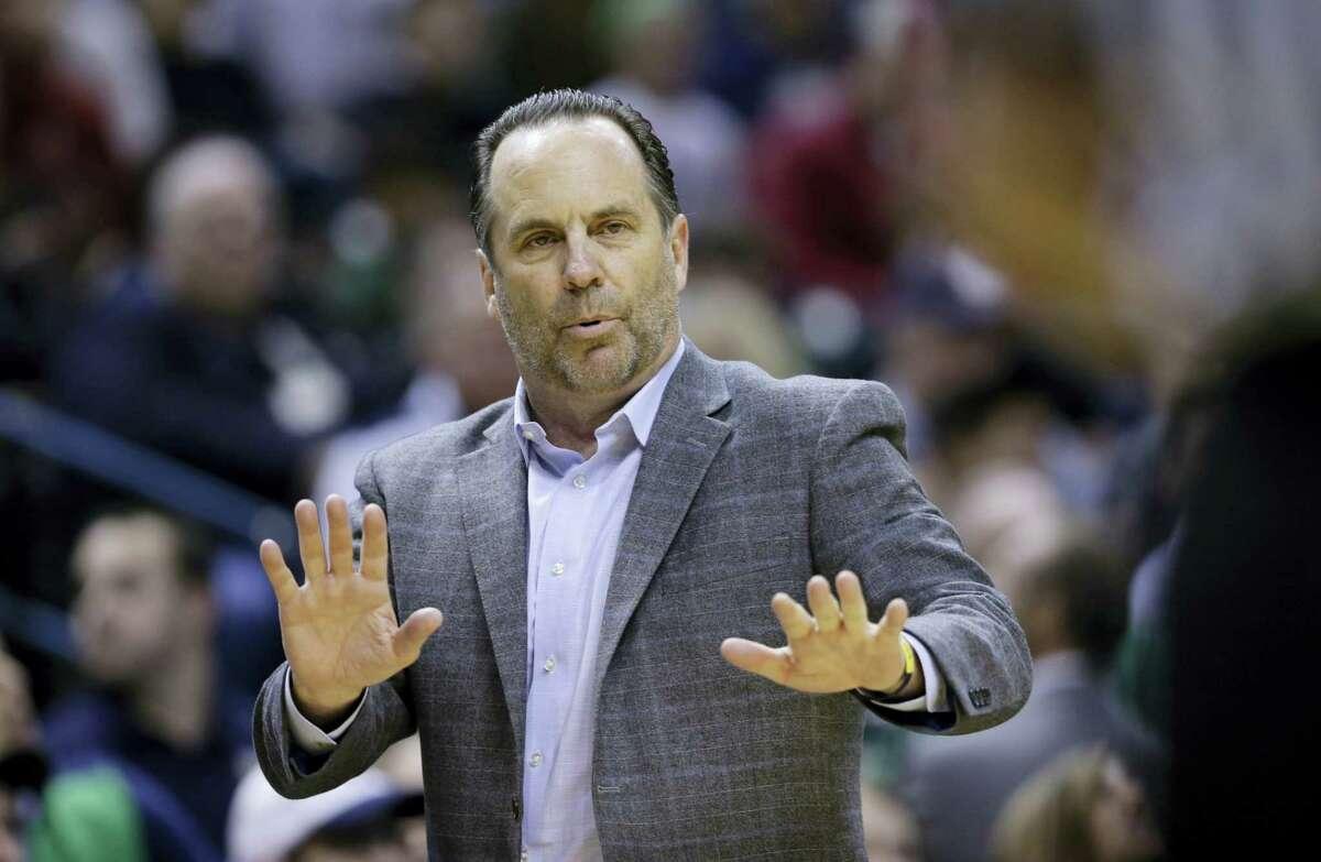 Notre Dame coach Mike Brey.