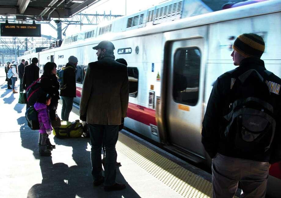 A Metro North train. Photo: New Haven Register File Photo