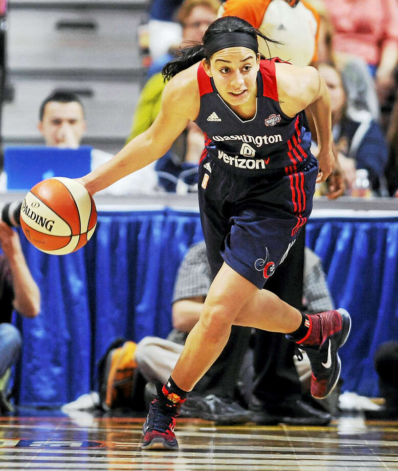 Former UConn star and current Washington Mystics player Bria Hartley is pregnant with her first child. Photo: The Associated Press File Photo   / AP2016
