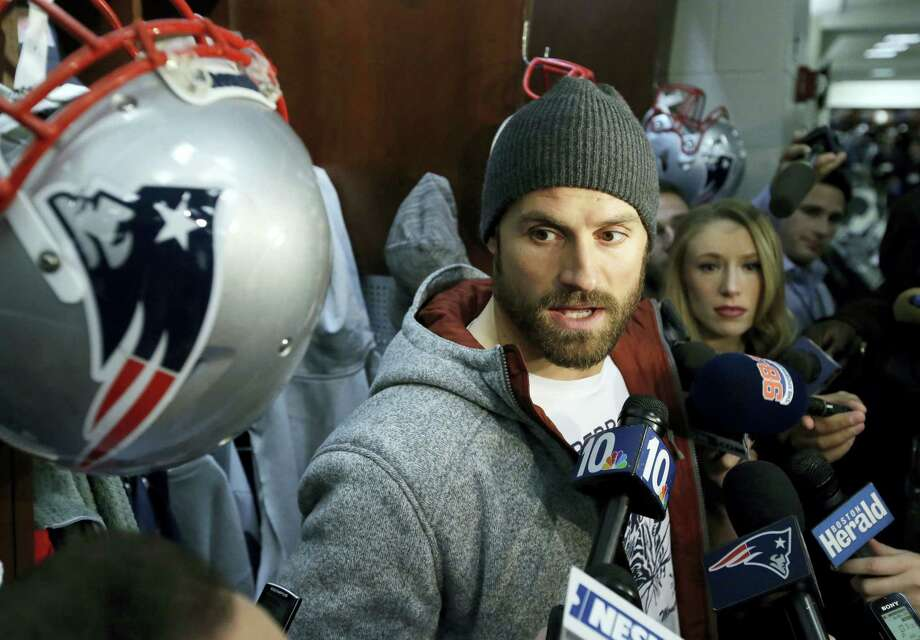 New England Patriots defensive end Chris Long. Photo: Steven Senne — The Associated Press   / Copyright 2016 The Associated Press. All rights reserved.