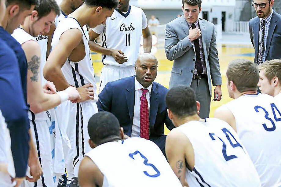 Former UConn star Scott Burrell returns to Gampel Pavilion on Saturday as head coach of Southern Connecticut State. Photo: Photo Courtesy Of SCSU Athletics   / Steady Photography http://www.steadyphotography.com