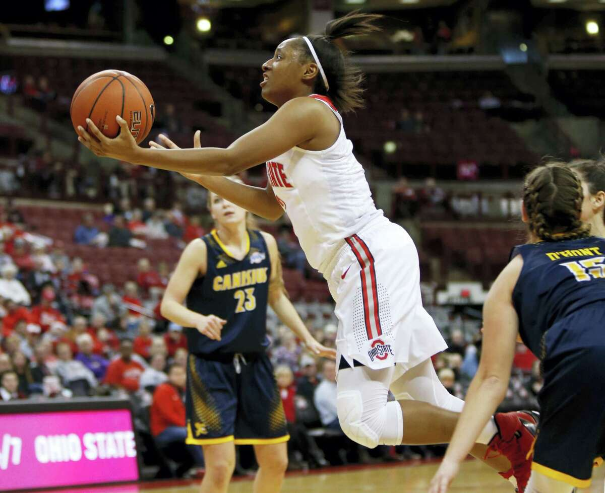 Ohio State guard Kelsey Mitchell.