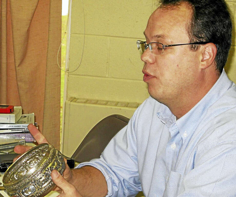 Contributed photoKevin Timme of Madison is a second-generation antiques dealer whose primary focus is silver, especially the American Victorian genre. He will be one of ten professionals providing verbal appraisals at Chester Historical Society's 13th Antiques & Jewelry Appraisal event on Saturday, Nov. 12 at St. Joseph's Parish Center, Chester, from 8:30 a.m. to noon. More information at 860-558-4701 or www.chesterhistoricalsociety.org. Photo: Digital First Media