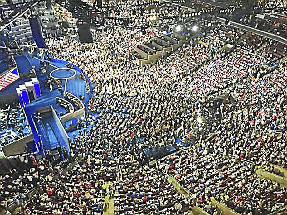 The convention floor Photo: Courtesy Of Nancy DiNardo