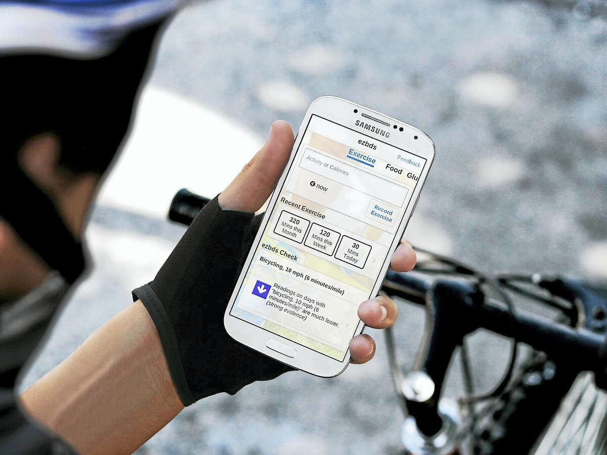 Photo of app courtesy of Adam Berger of ezbds