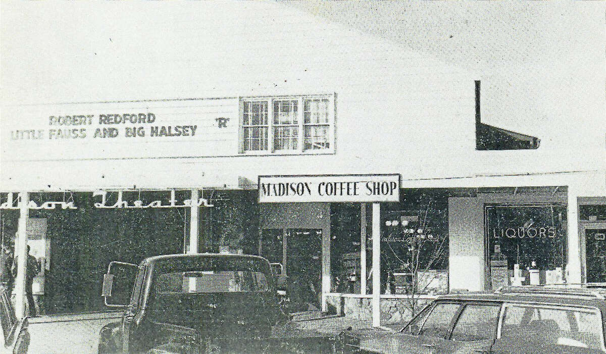 Courtesy Charlotte Evart Memorial Archives The Madison Coffee Shop in 1970. Little Faus and Big Halsy was playing at the adjoining Madison Theater.