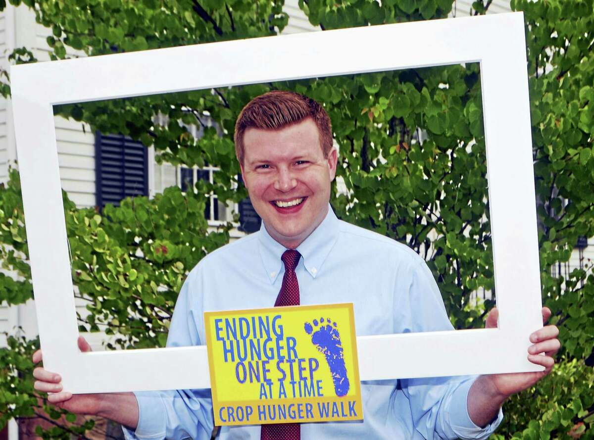 State Rep. Sean Scanlon, D-Guilford, will serve as the Honorary Chairman of the 2016 CROP Hunger Walk which will take place on the Guilford Green at 1:30 p.m. on Oct. 2.