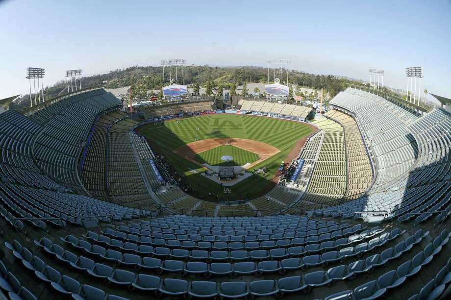 A view from above Dodger Stadium. Photo: The Associated Press File Photo   / AP