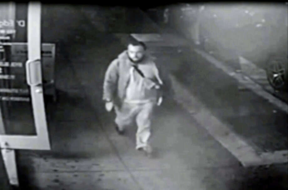 This frame from surveillance video released by the New Jersey State Police shows Ahmad Khan Rahami Photo: New Jersey State Police Via AP    / New Jersey State Police