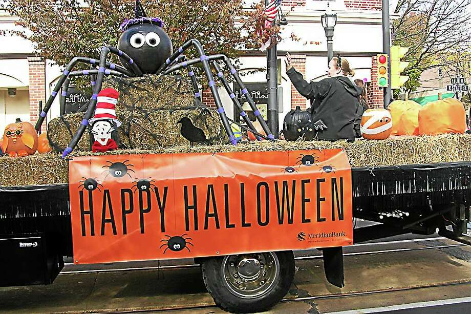 Photo: Margie Royal - DCNN  Meridian Bank of Media sponsored the  50th Annual Delaware County Halloween Parade last Saturday. Photo: Digital First Media File Photo