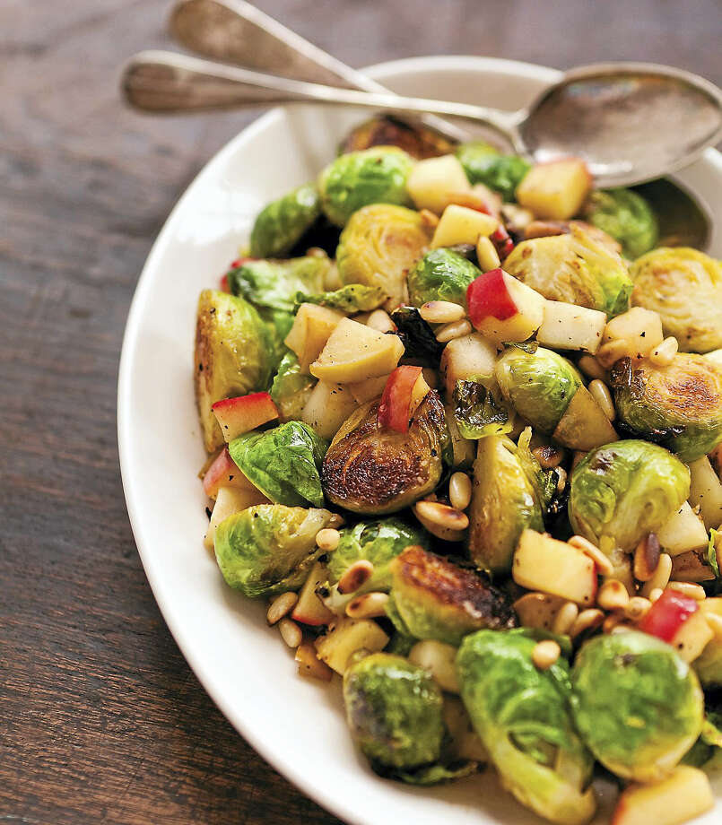 Sautéed Brussels sprouts and apples provides a nice contrast of bitter and sweet. Photo: Photo Courtesy Of St. Martin's Griffin   / © Olivia Brent-Fielding 2013