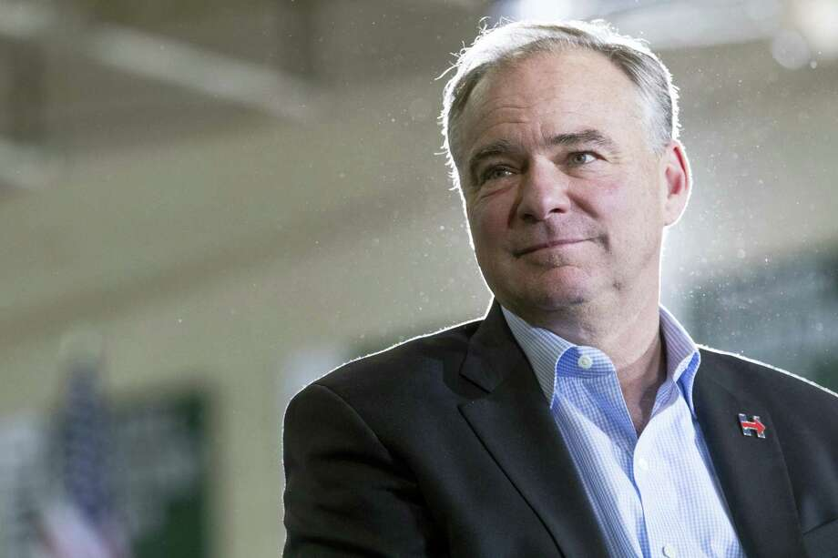 Democratic vice presidential candidate Sen. Tim Kaine, D-Va. Photo: Mary Altaffer — The Associated Press   / Copyright 2016 The Associated Press. All rights reserved.